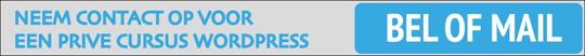 cursus wordpress webshop